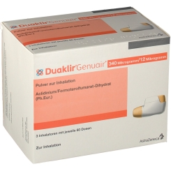 DUAKLIR Genuair 340 µg/12 µg Plv.z.Inhalation 60ED