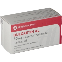 DULOXETIN AL 30 mg magensaftresistente Hartkapseln