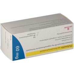 DULOXETIN Glenmark 60 mg magensaftres.Hartkaps.