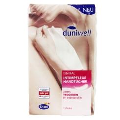 duniwell Einmal Intimpflege Handtücher