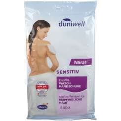 duniwell Einmal Waschhandschuhe sensitiv