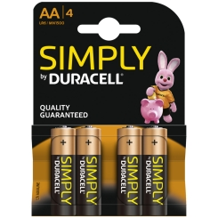 DURACELL® SIMPLY AA K4