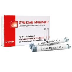 DYNEXAN® Mundgel Zylinderampullen