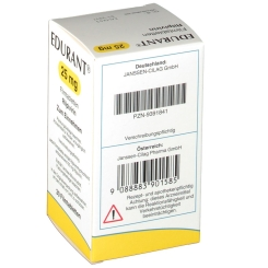 EDURANT 25 mg