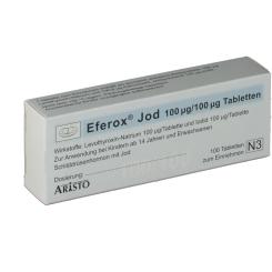 Eferox Jod 100 ug/100 ug Tabl.