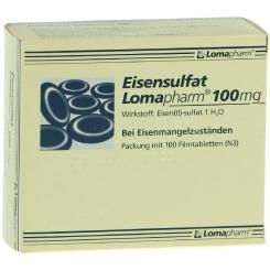 Eisensulfat Lomapharm® 100 mg Filmtabletten