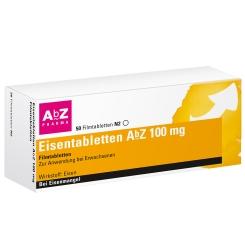 Eisentabletten AbZ 100 mg