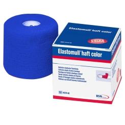 Elastomull® haft color Fixierbinde blau 4m x 10cm