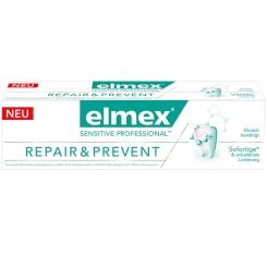 elmex® SENSITIVE PROFESSIONAL Repair & Prevent + 100 ml elmex® Sensitive Zahnspülung GRATIS