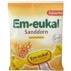 Em-eukal® Bonbons Sanddorn zuckerfrei