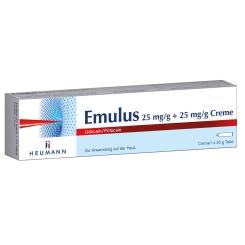 Emulus 25 mg/g + 25mg/g