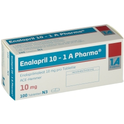Enalapril 10 1a Pharma Tabletten