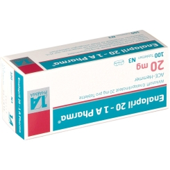 Enalapril 20 1a Pharma Tabletten