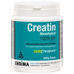 Endima® Creapure® Creatin Monohydrat 100% Pur Pulver