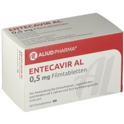 ENTECAVIR AL 0,5 mg Filmtabletten