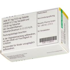 ENTRESTO 97 mg/103 mg Filmtabletten