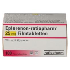 EPLERENON ratiopharm 25 mg Filmtabletten