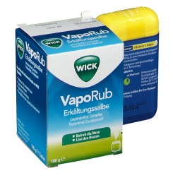 Erkältungsset WICK VapoRub + Orthomol Vitamin C depo