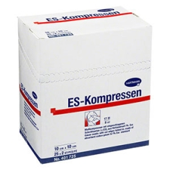 ES-Kompressen steril 8fach 10 x 20 cm