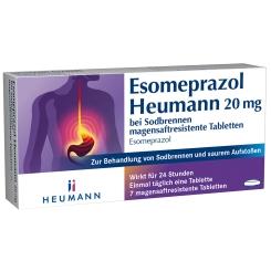 ESOMEPRAZOL Heumann 20 mg bei Sodbrennen
