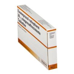 ESOMEPRAZOL ratiopharm 20 mg magensaftr.Tabl.