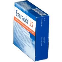 ESTRADOT 25µg/24 Std. transdermale Pflaster