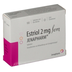 ESTRIOL 2 mg fem Jenapharm Tabletten