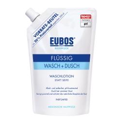 EUBOS® Flüssig blau Nachfüllbeutel Parfüm-frei