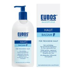 EUBOS® Hautbalsam F Lotion mit Dosierspender