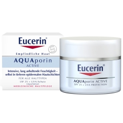 Eucerin® AQUAporin ACTIVE LSF 25 + UVA-SCHUTZ
