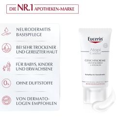 Eucerin® AtopiControl Gesichtscreme für Neurodermitis