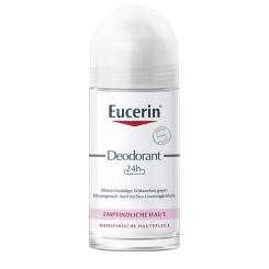 Eucerin® Deodorant Empfindliche Haut 24h Roll-on
