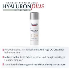 Eucerin® HYALURON-FILLER CC-Cream hell