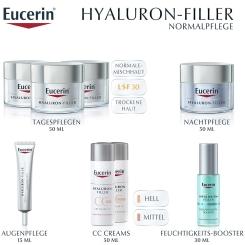 Eucerin® HYALURON-FILLER CC-Cream hell + eine Ampulle HYALURON-FILLER Serum Konzentrat GRATIS