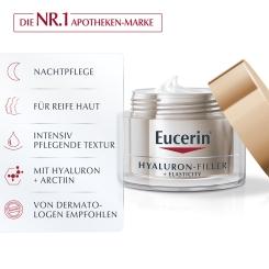Eucerin® HYALURON-FILLER + ELASTICITY Nachtpflege