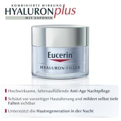 Eucerin® HYALURON-FILLER Intensiv Falten-Auffüllende Nachtpflege