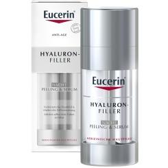 Eucerin® HYALURON-FILLER Nacht Peeling & Serum