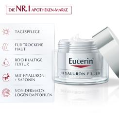 Eucerin® HYALURON-FILLER Tagespflege für trockene Haut