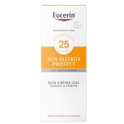 Eucerin® Sonnen Allergie Schutz Sun Creme-Gel LSF 25 + Sommertuch GRATIS