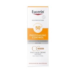 Eucerin® Sun CC Creme getönt mittel LSF 50+
