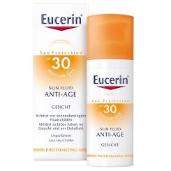 Eucerin® Sun Fluid Anti-Age LSF 30 + Sommertuch GRATIS
