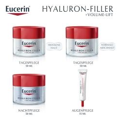 Eucerin® VOLUME-FILLER Nachtpflege + eine Ampulle HYALURON-FILLER Serum Konzentrat GRATIS