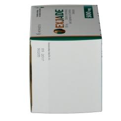 EXJADE 500 mg Tabl.z.Herstel.e.Susp.z.Einnehm.