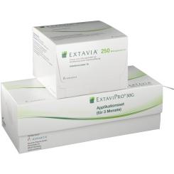 Extavia 250 µg/ml Trockensubstanz mit Lösungsmittel