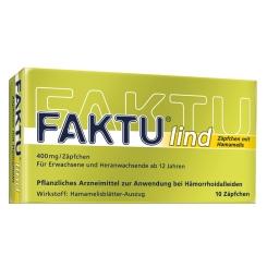 FAKTU® lind Zäpfchen mit Hamamelis