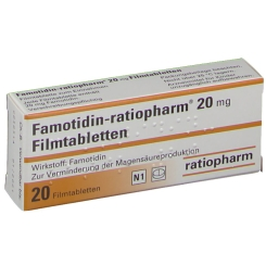 Famotidin ratiopharm 20 mg Filmtabl.