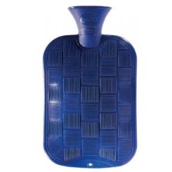 fashy Wärmflasche Karo-Halblamelle Königsblau
