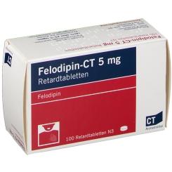 Felodipin 5 v. Ct Retardtabletten