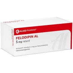 Felodipin Al 5 mg Retardtabletten