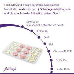 Femibion® 2 Schwangerschaft + Stillzeit 30 Tage Tabletten/Kapseln